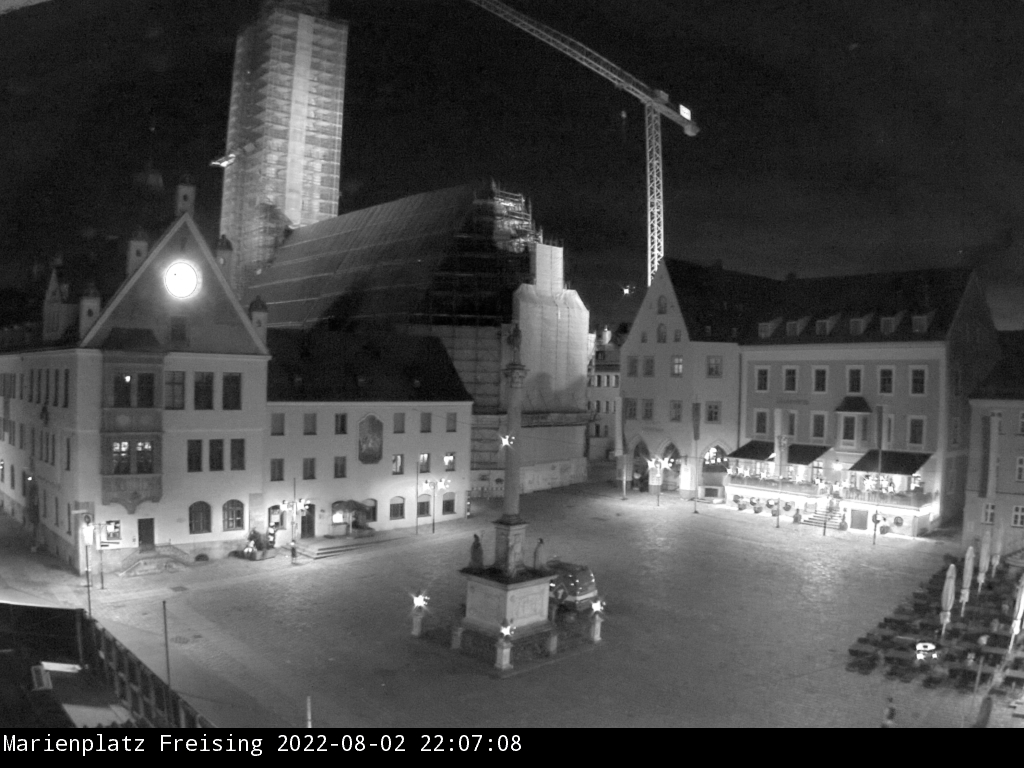 Freising City Center, Marienplatz